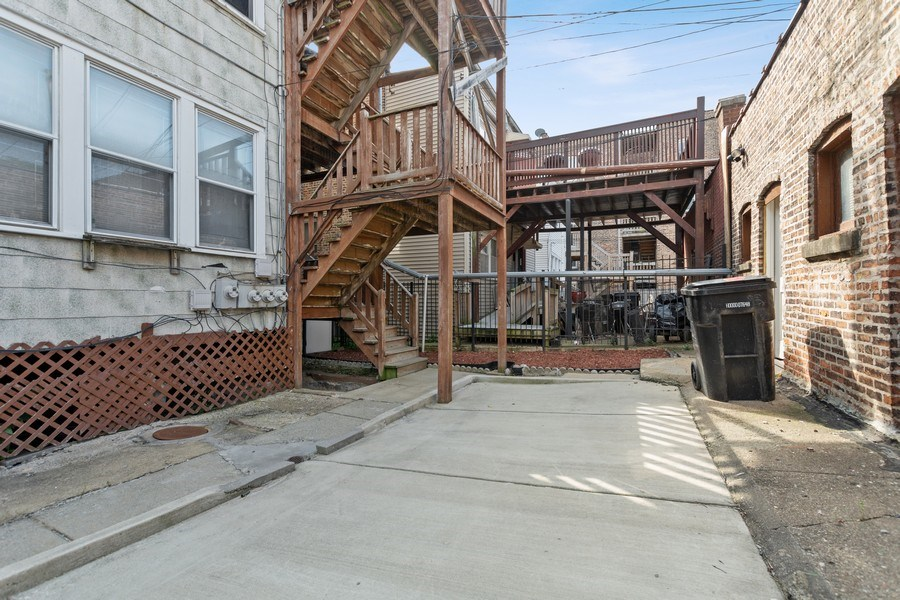 Real Estate Photography - 8046 S Langley Ave, Unit 1, Chicago, IL, 60619 - Back Yard