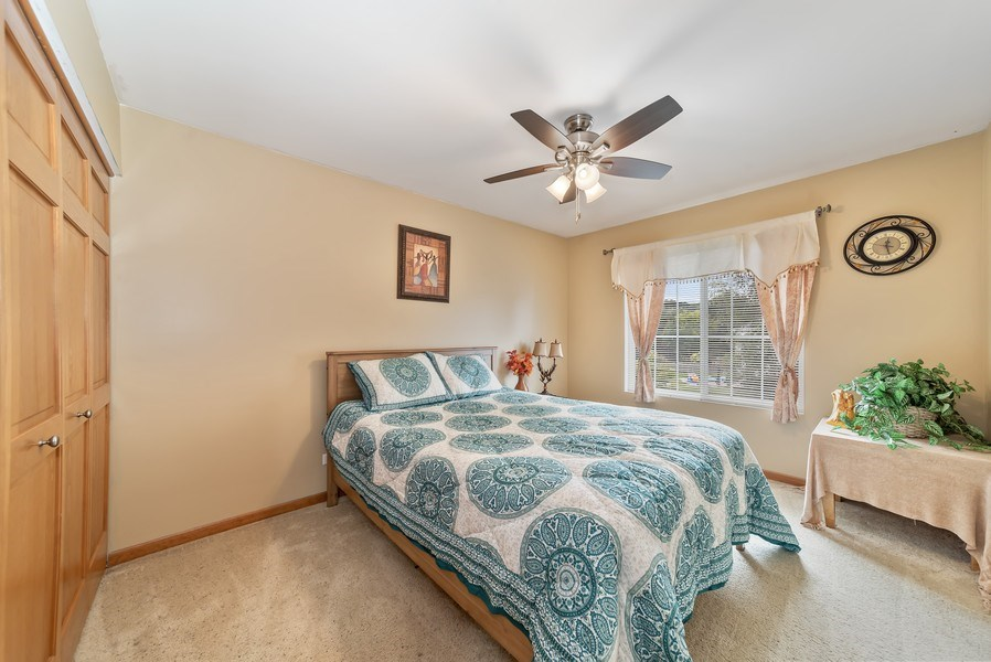 Real Estate Photography - 640 Canterbury, Pingree Grove, IL, 60140 - 3rd Bedroom