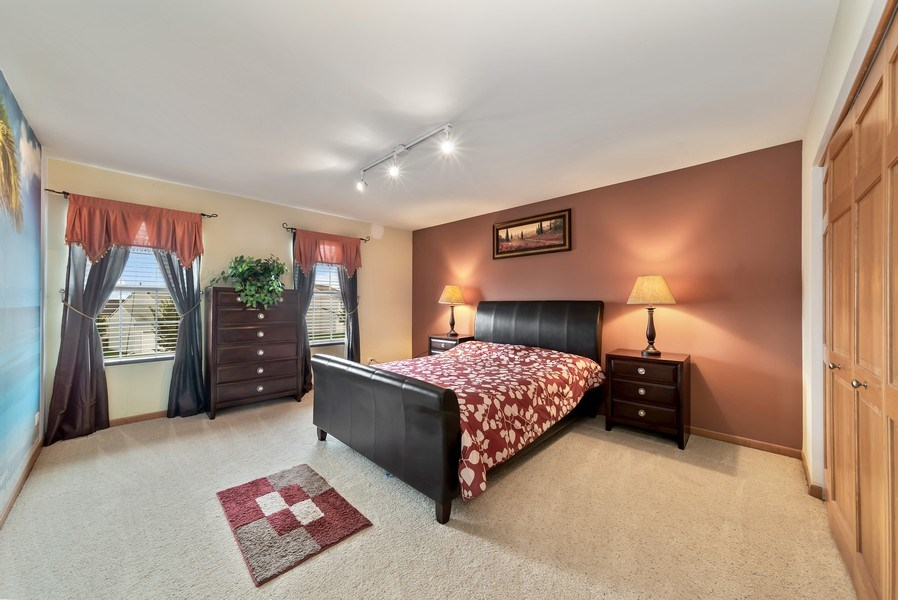 Real Estate Photography - 640 Canterbury, Pingree Grove, IL, 60140 - 4th Bedroom