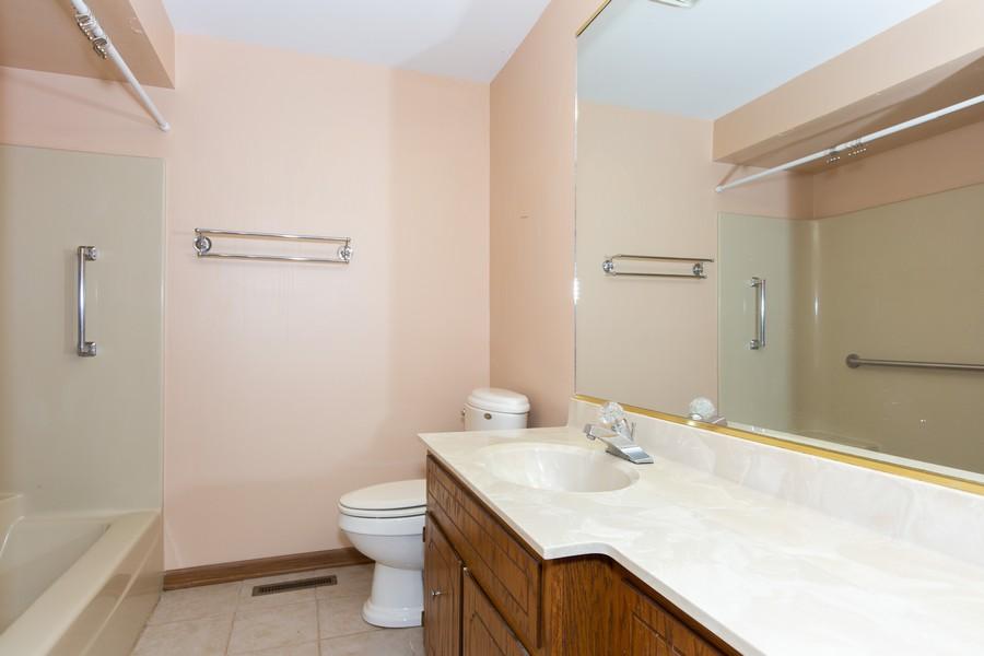 Real Estate Photography - 209 N Vine St, Unit A, New Lenox, IL, 60451 - Bathroom