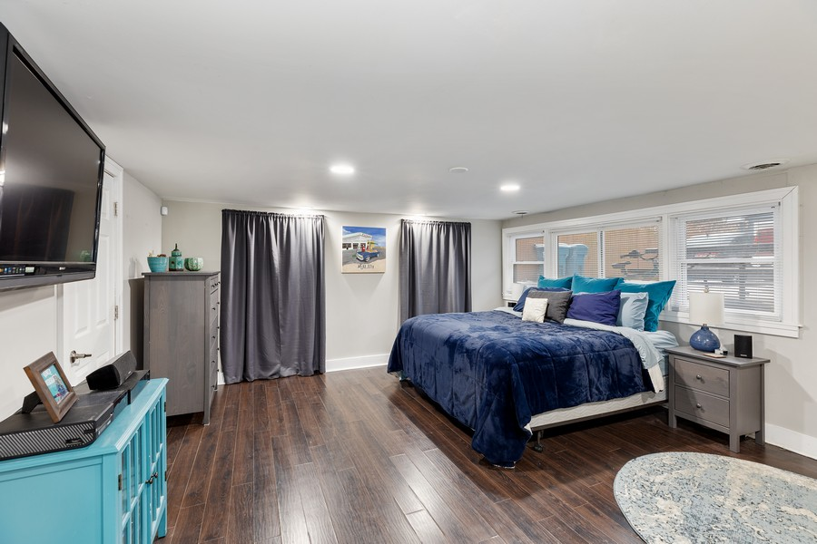 Real Estate Photography - 17114 S Maryland, south holland, IL, 60473 - Master Bedroom