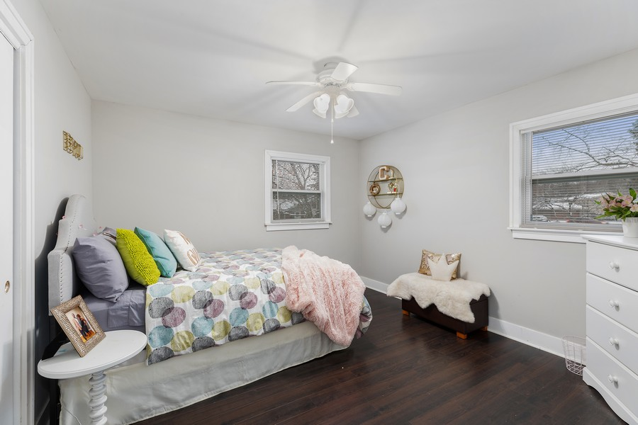 Real Estate Photography - 17114 S Maryland, south holland, IL, 60473 - 3rd Bedroom