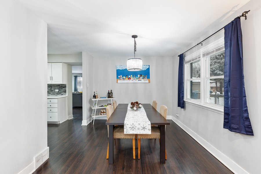 Real Estate Photography - 17114 S Maryland, south holland, IL, 60473 - Dining Room