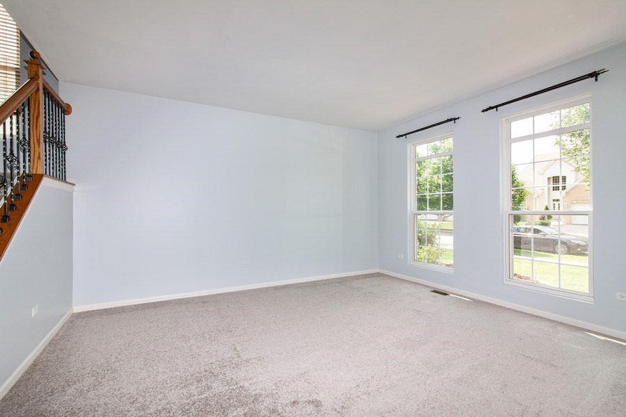 Real Estate Photography - 348 Stonegate, Bolingbrook, IL, 60440 - Living Room