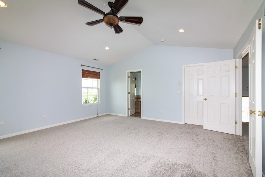 Real Estate Photography - 348 Stonegate, Bolingbrook, IL, 60440 - Master Bedroom