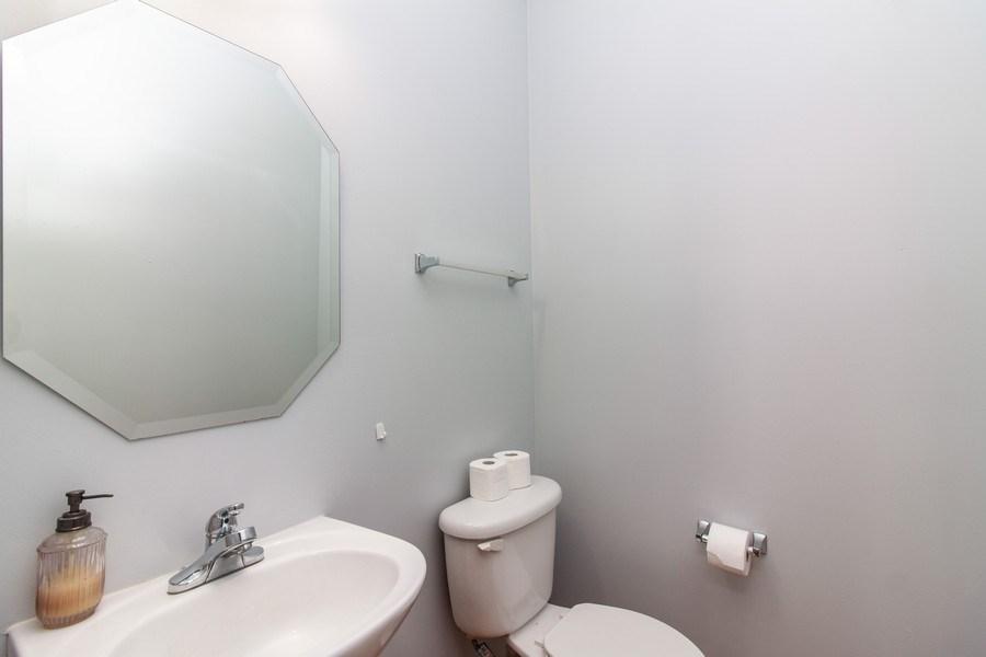 Real Estate Photography - 348 Stonegate, Bolingbrook, IL, 60440 - Powder Room
