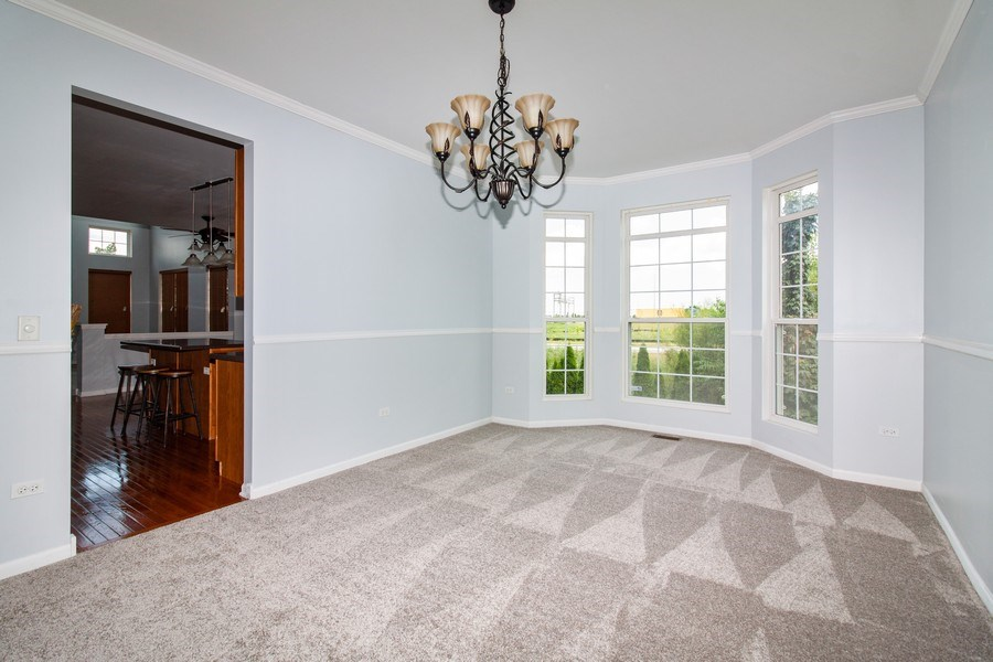 Real Estate Photography - 348 Stonegate, Bolingbrook, IL, 60440 - Dining Room