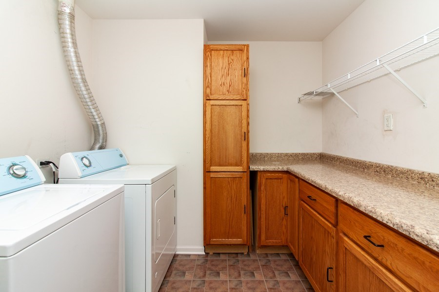 Real Estate Photography - 348 Stonegate, Bolingbrook, IL, 60440 - Laundry Room