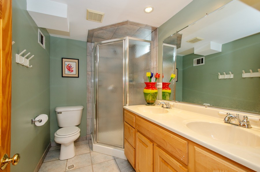 Real Estate Photography - 1025 Kent, Park Ridge, IL, 60068 - 4th Bathroom