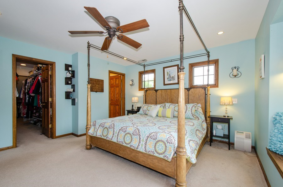 Real Estate Photography - 1025 Kent, Park Ridge, IL, 60068 - Master Bedroom