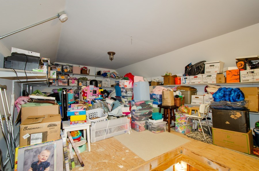 Real Estate Photography - 1025 Kent, Park Ridge, IL, 60068 - Attic