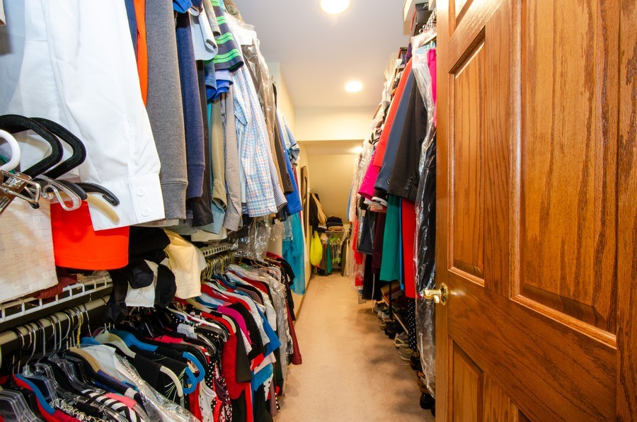 Real Estate Photography - 1025 Kent, Park Ridge, IL, 60068 - Master Bedroom Closet
