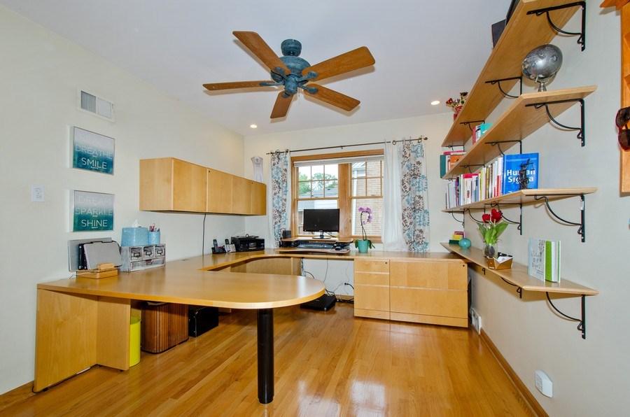Real Estate Photography - 1025 Kent, Park Ridge, IL, 60068 - Office