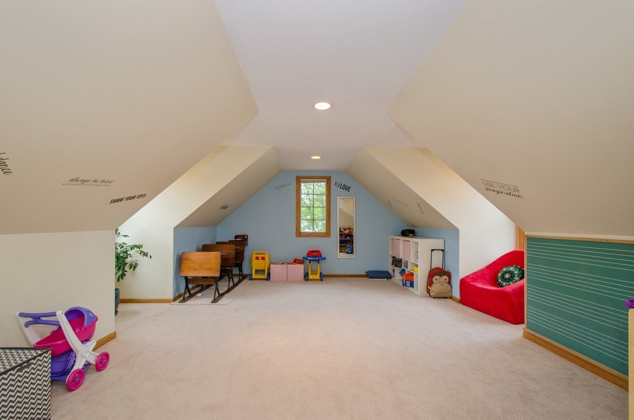Real Estate Photography - 1025 Kent, Park Ridge, IL, 60068 - Play / Recreational Room
