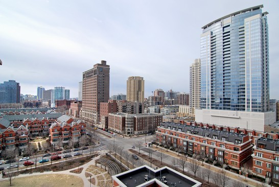 Real Estate Photography - 1322 S Prairie, Unit 1103, Chicago, IL, 60605 - City View