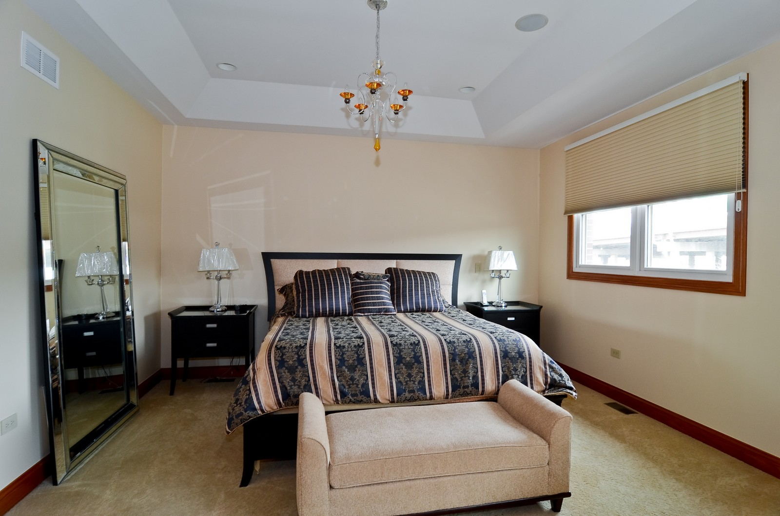 Real Estate Photography - 1443 S. Emerald, Chicago, IL, 60607 - Master Bedroom