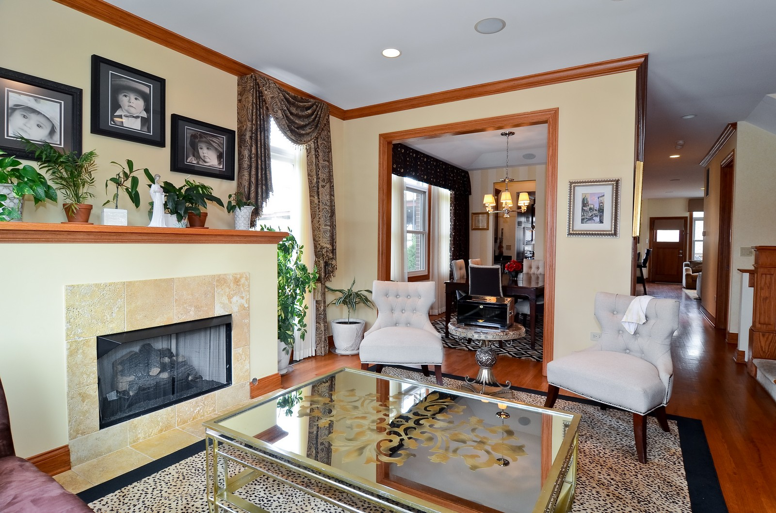Real Estate Photography - 1443 S. Emerald, Chicago, IL, 60607 - Living Room