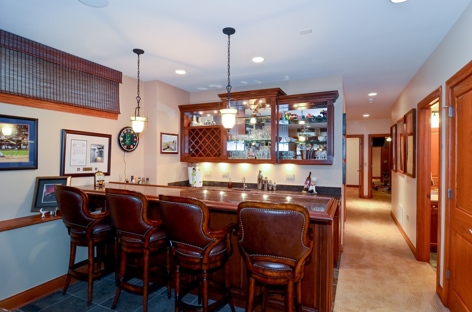 Real Estate Photography - 1443 S. Emerald, Chicago, IL, 60607 - Bar