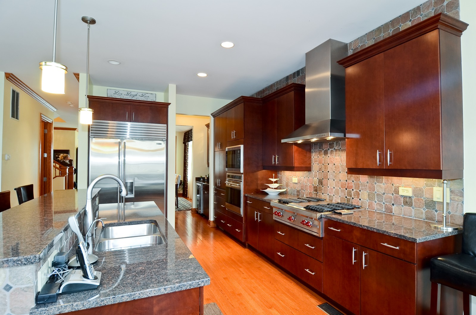 Real Estate Photography - 1443 S. Emerald, Chicago, IL, 60607 - Kitchen