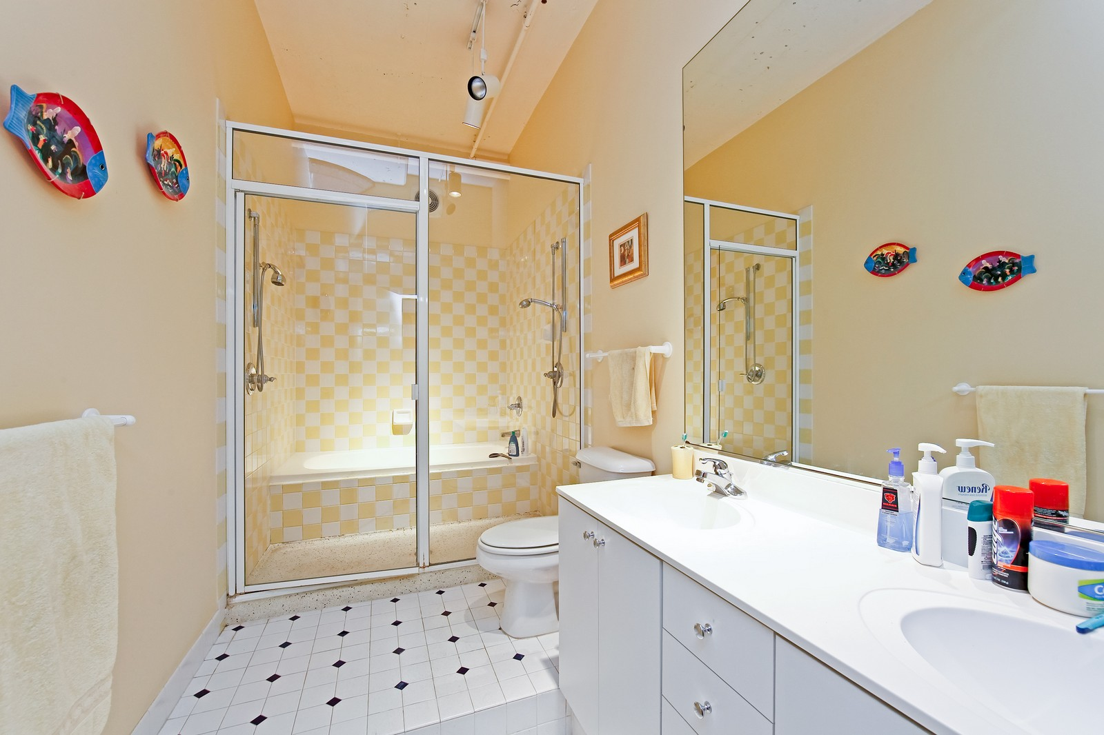 Real Estate Photography - 728 W. Jackson, 405, Chicago, IL, 60661 - Master Bathroom