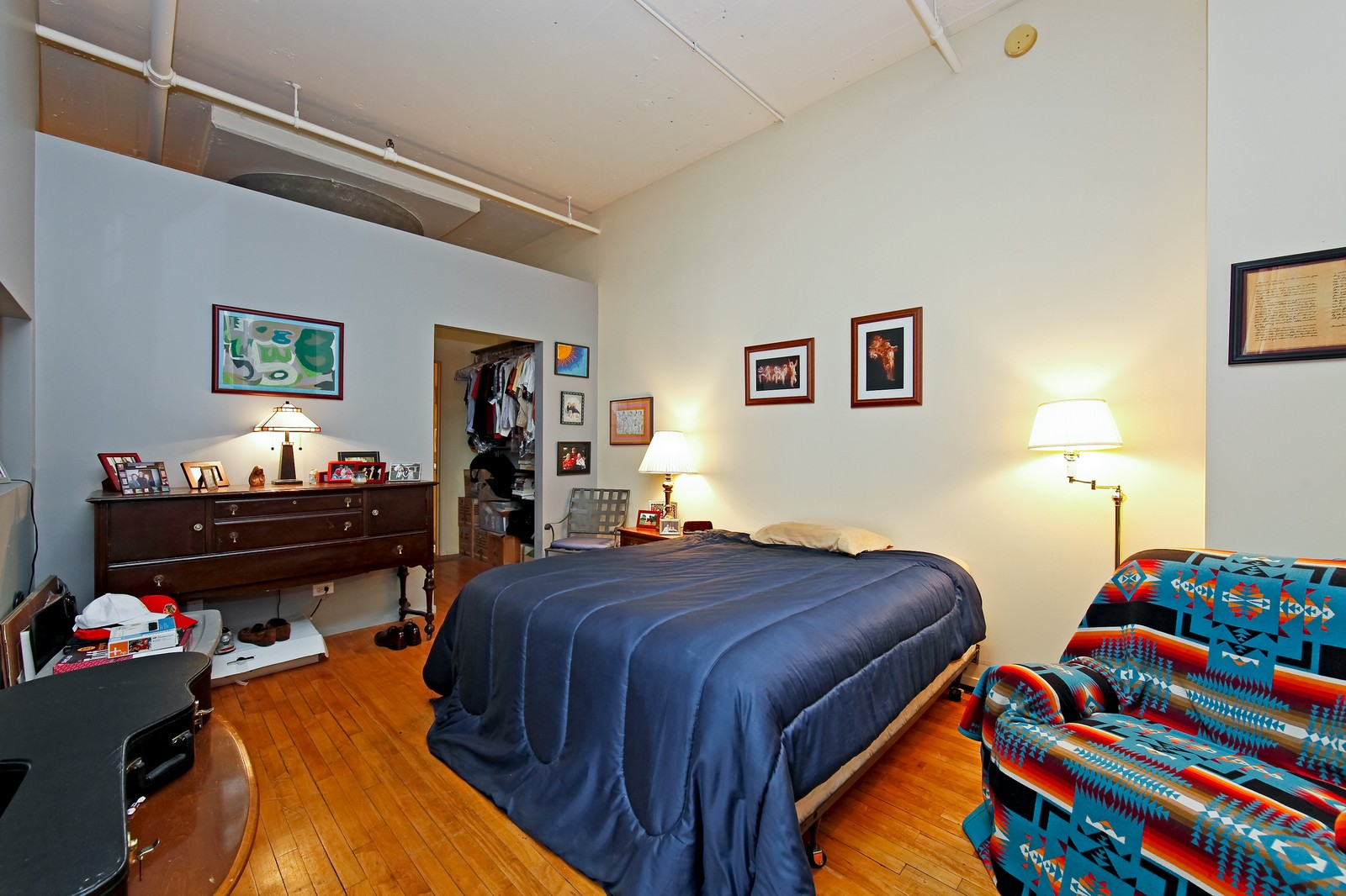 Real Estate Photography - 728 W. Jackson, 405, Chicago, IL, 60661 - Master Bedroom