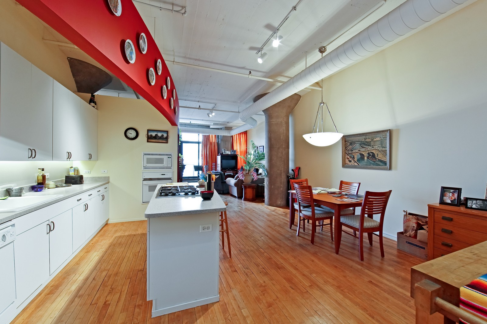 Real Estate Photography - 728 W. Jackson, 405, Chicago, IL, 60661 - Kitchen / Dining Room