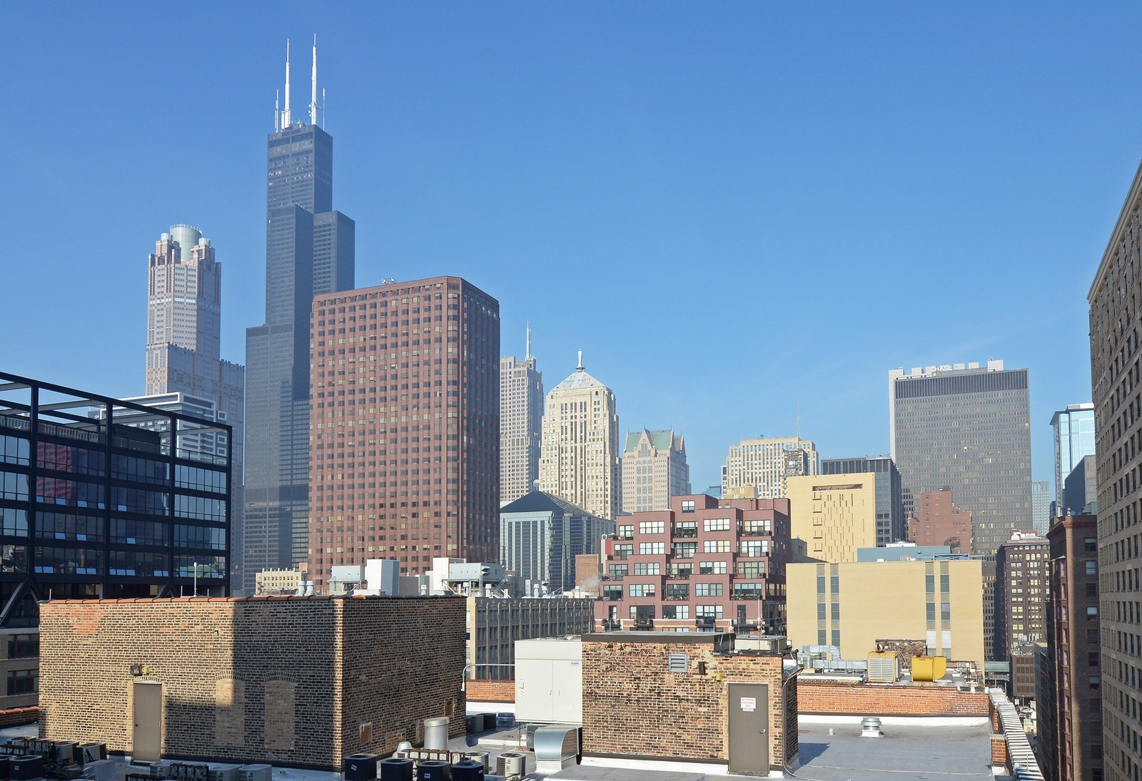 Real Estate Photography - 740 S Federal, 1101, Chicago, IL, 60605 - City View