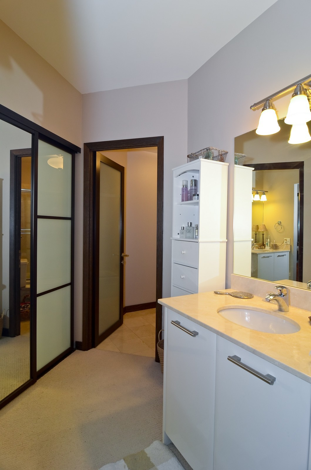 Real Estate Photography - 740 S Federal, 1101, Chicago, IL, 60605 - Master Bathroom