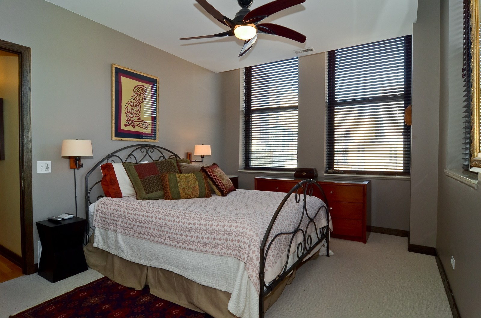 Real Estate Photography - 740 S Federal, 1101, Chicago, IL, 60605 - Master Bedroom