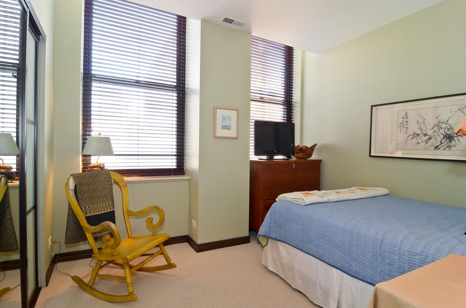 Real Estate Photography - 740 S Federal, 1101, Chicago, IL, 60605 - Bedroom