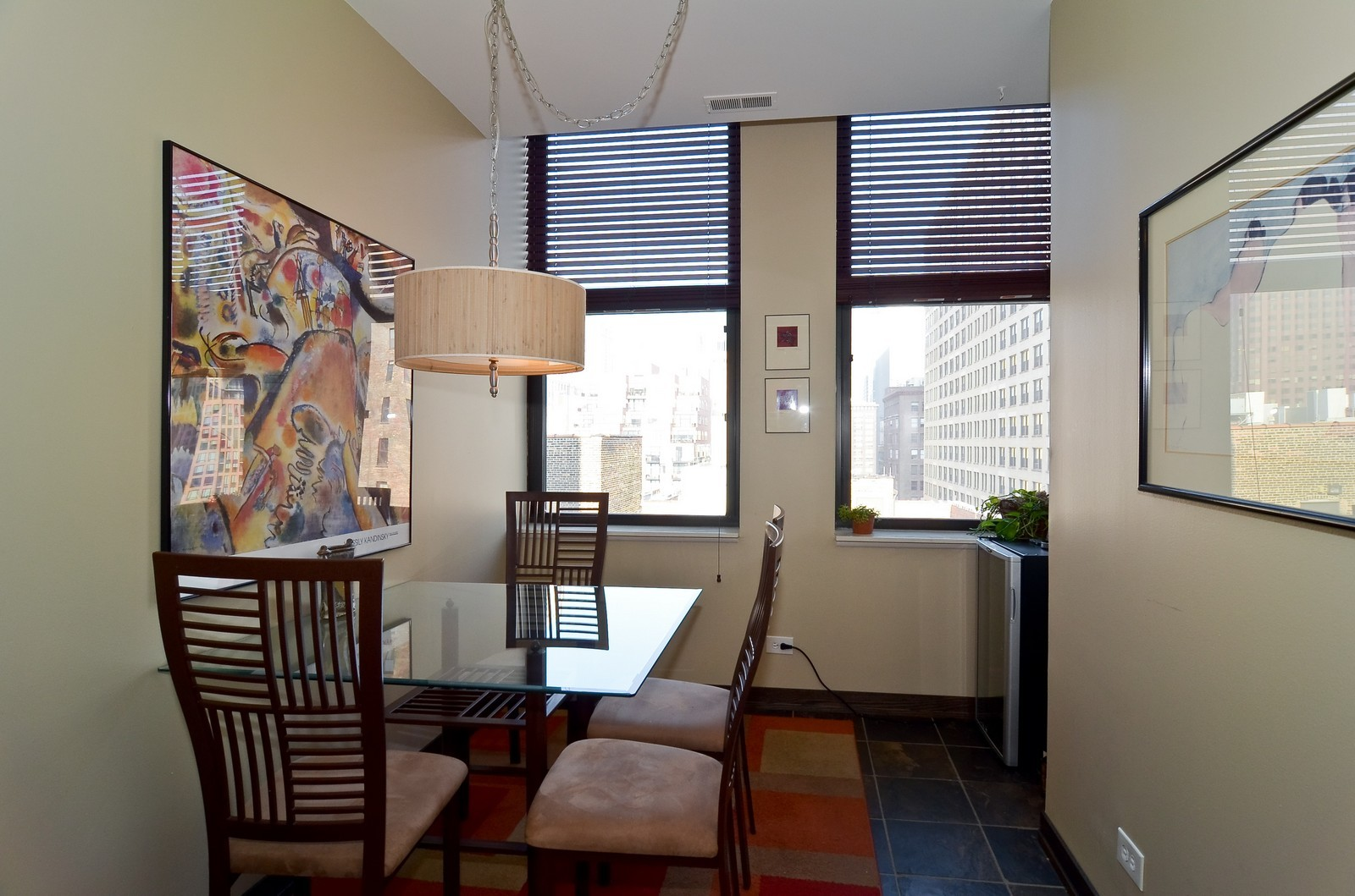 Real Estate Photography - 740 S Federal, 1101, Chicago, IL, 60605 - Dining Room