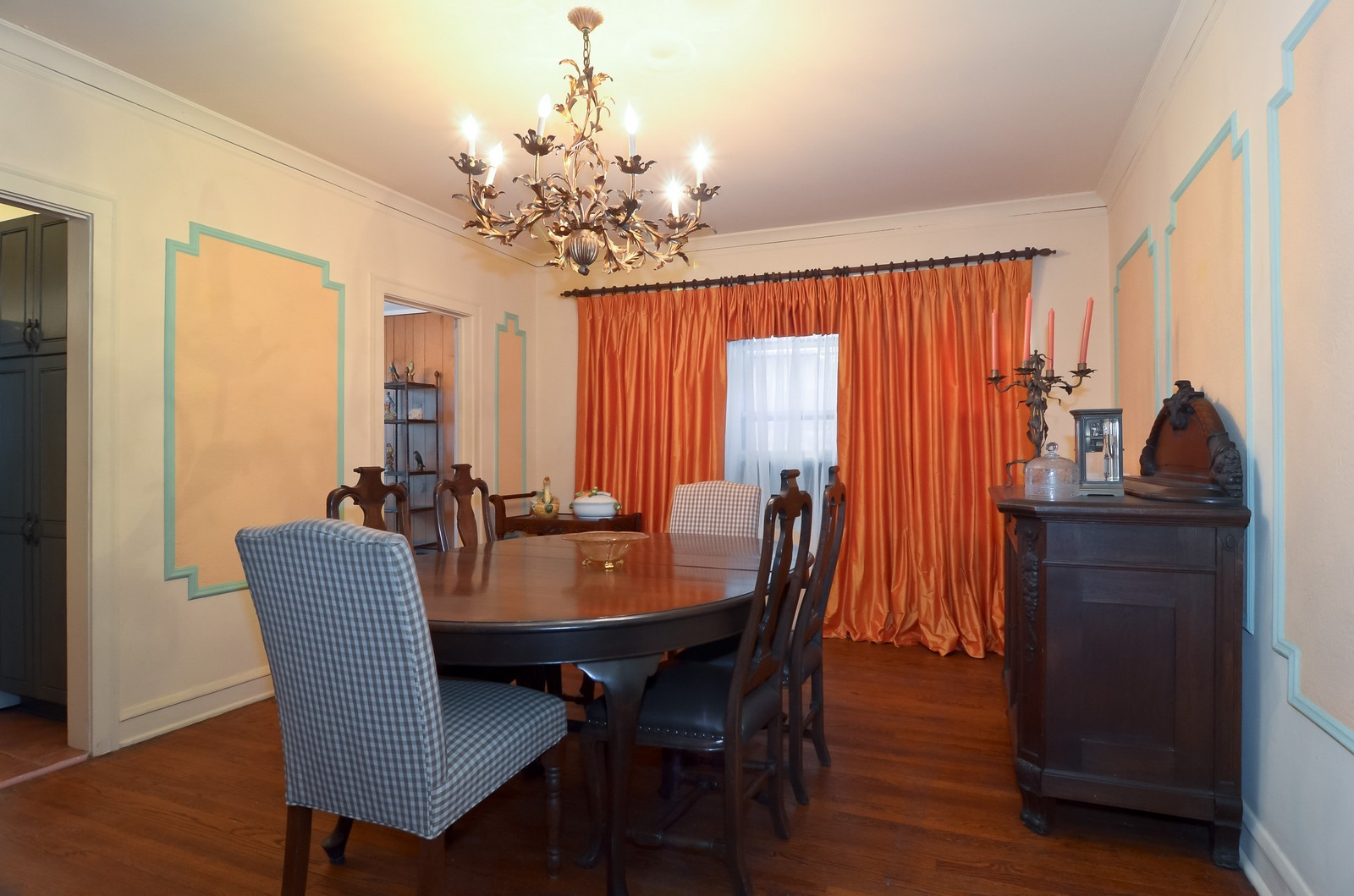 Real Estate Photography - 7314 Ridge, 1, Chicago, IL, 60645 - Dining Room
