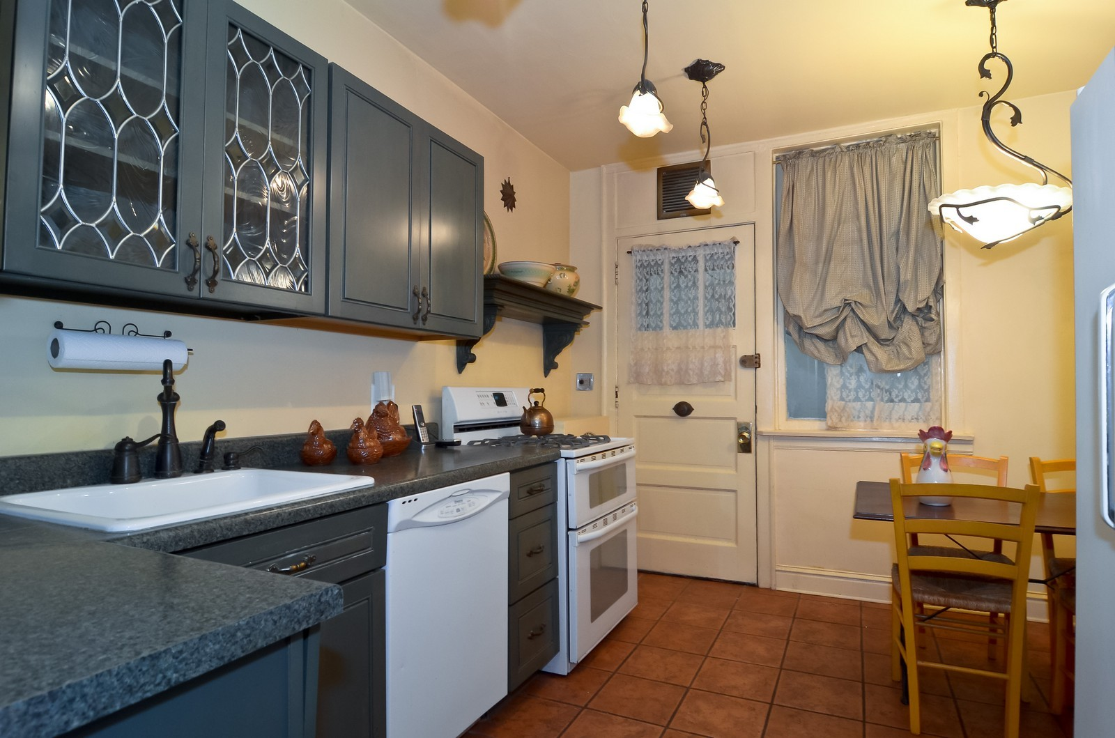 Real Estate Photography - 7314 Ridge, 1, Chicago, IL, 60645 - Kitchen