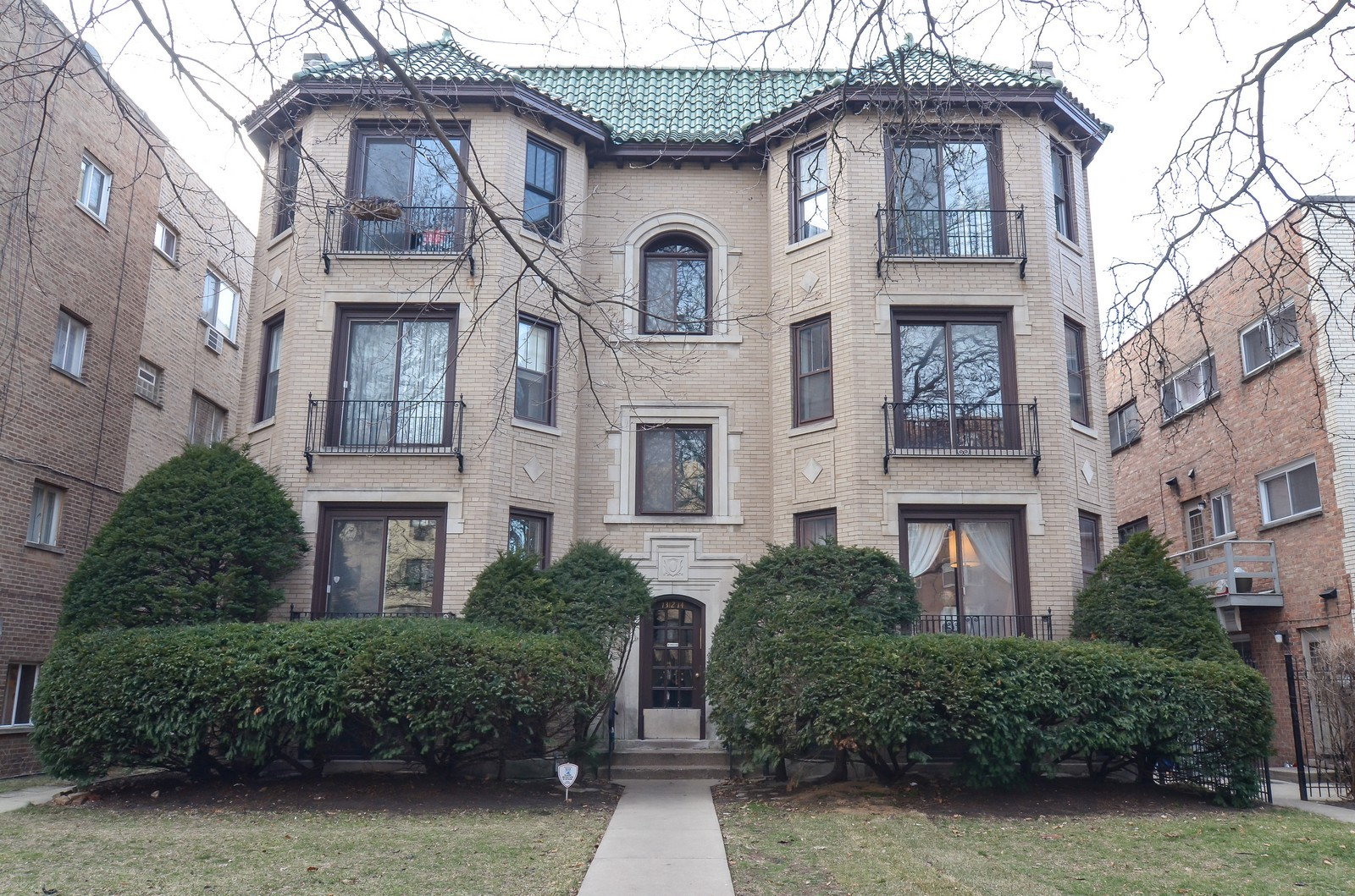 Real Estate Photography - 7314 Ridge, 1, Chicago, IL, 60645 - Front View