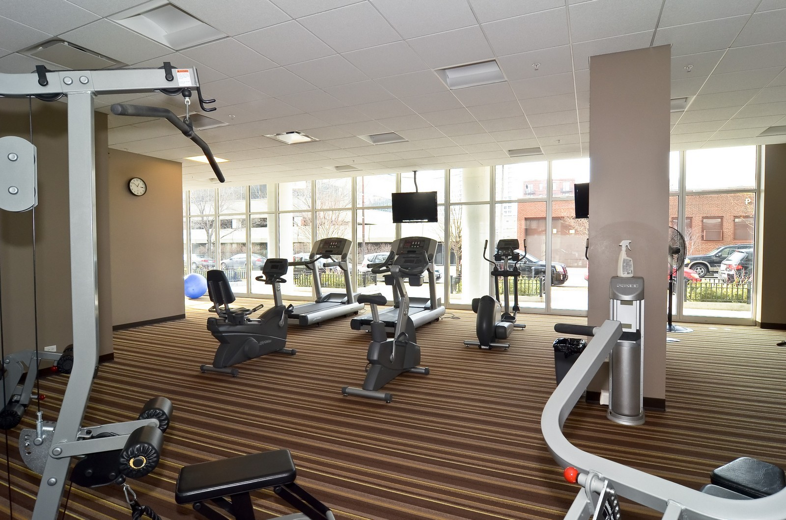 Real Estate Photography - 1629 S. Prairie, 1401, Chicago, IL, 60616 - Exercise Room