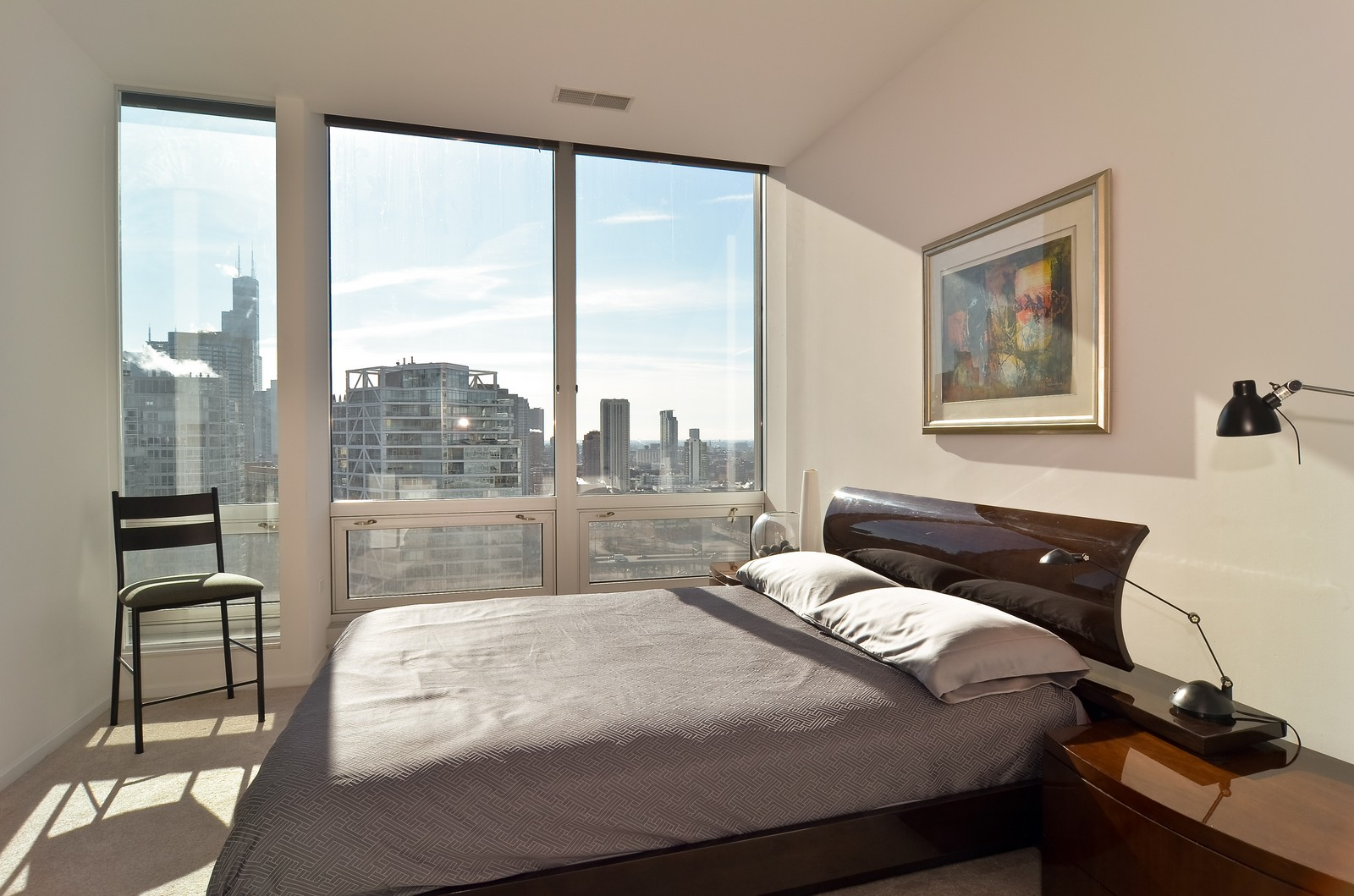 Real Estate Photography - 500 W Superior, Chicago, IL, 60654 - Master Bedroom