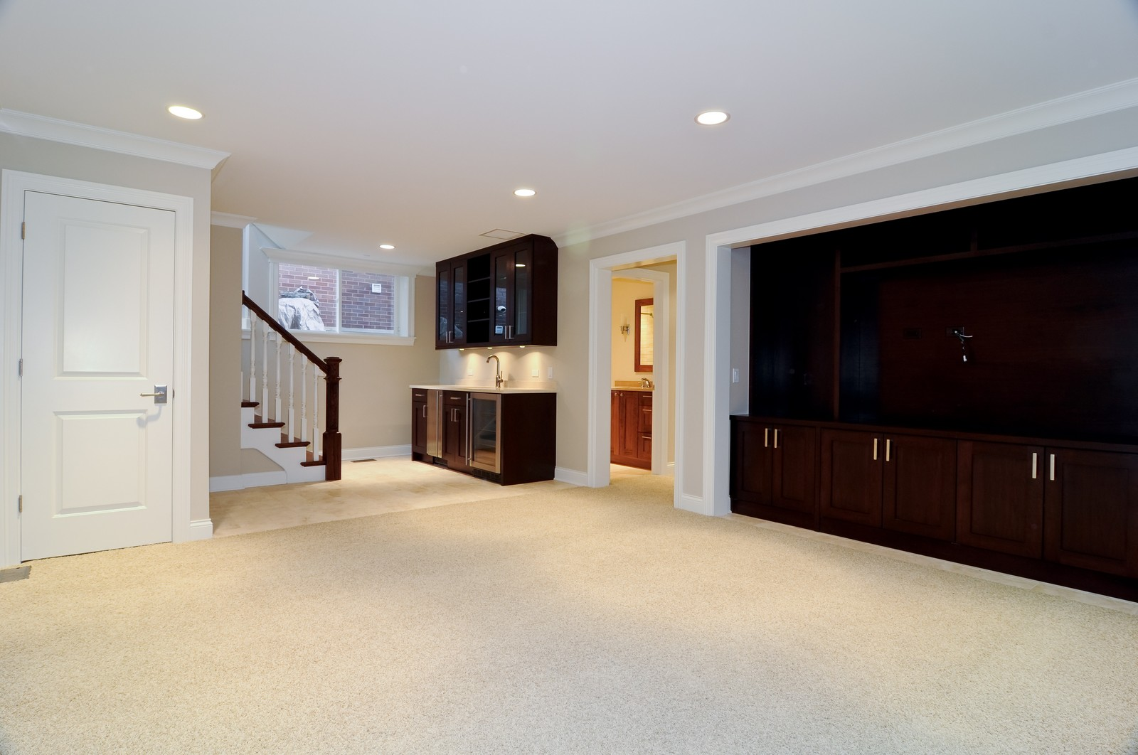 Real Estate Photography - 3845 N Paulina St, Chicago, IL, 60613 - Lower Level