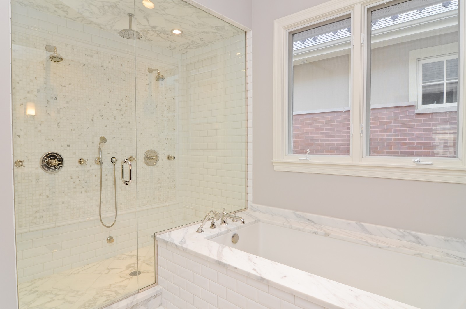 Real Estate Photography - 3845 N Paulina St, Chicago, IL, 60613 - Master Bathroom