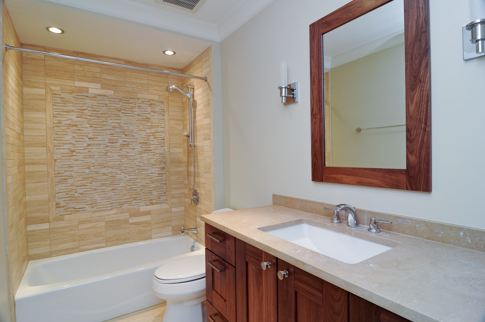Real Estate Photography - 3845 N Paulina St, Chicago, IL, 60613 - Lower Level Bathroom
