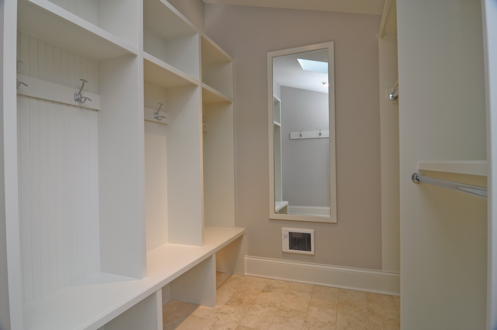 Real Estate Photography - 3845 N Paulina St, Chicago, IL, 60613 - Mudroom