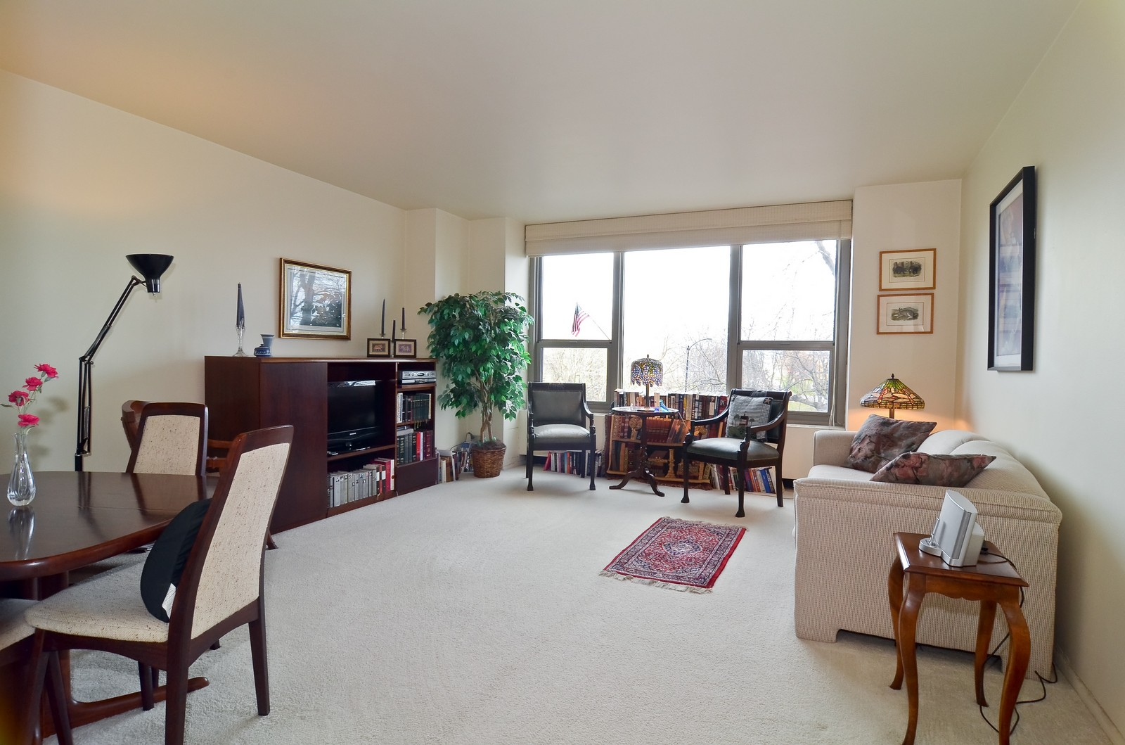 Real Estate Photography - 1550 N Lakeshore Dr, Unit 2E, Chicago, IL, 60610 - Living Room