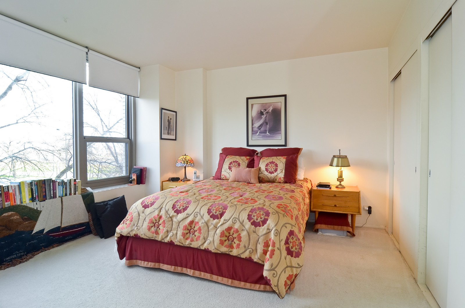 Real Estate Photography - 1550 N Lakeshore Dr, Unit 2E, Chicago, IL, 60610 - Bedroom
