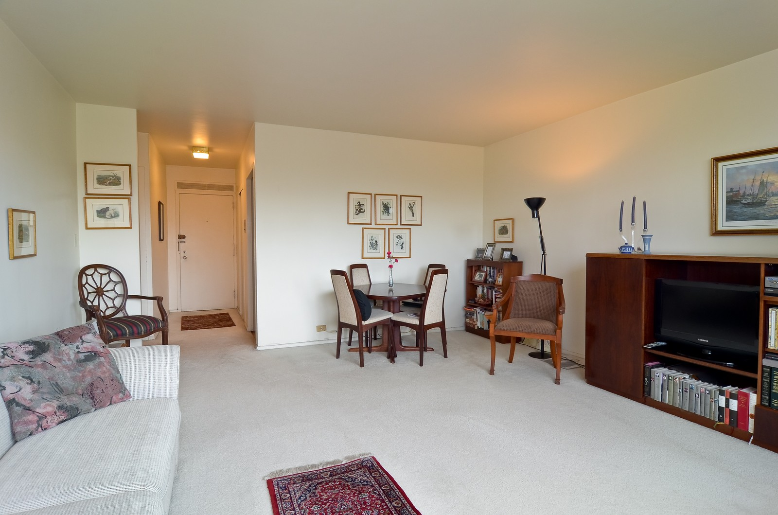 Real Estate Photography - 1550 N Lakeshore Dr, Unit 2E, Chicago, IL, 60610 - Living Room / Dining Room