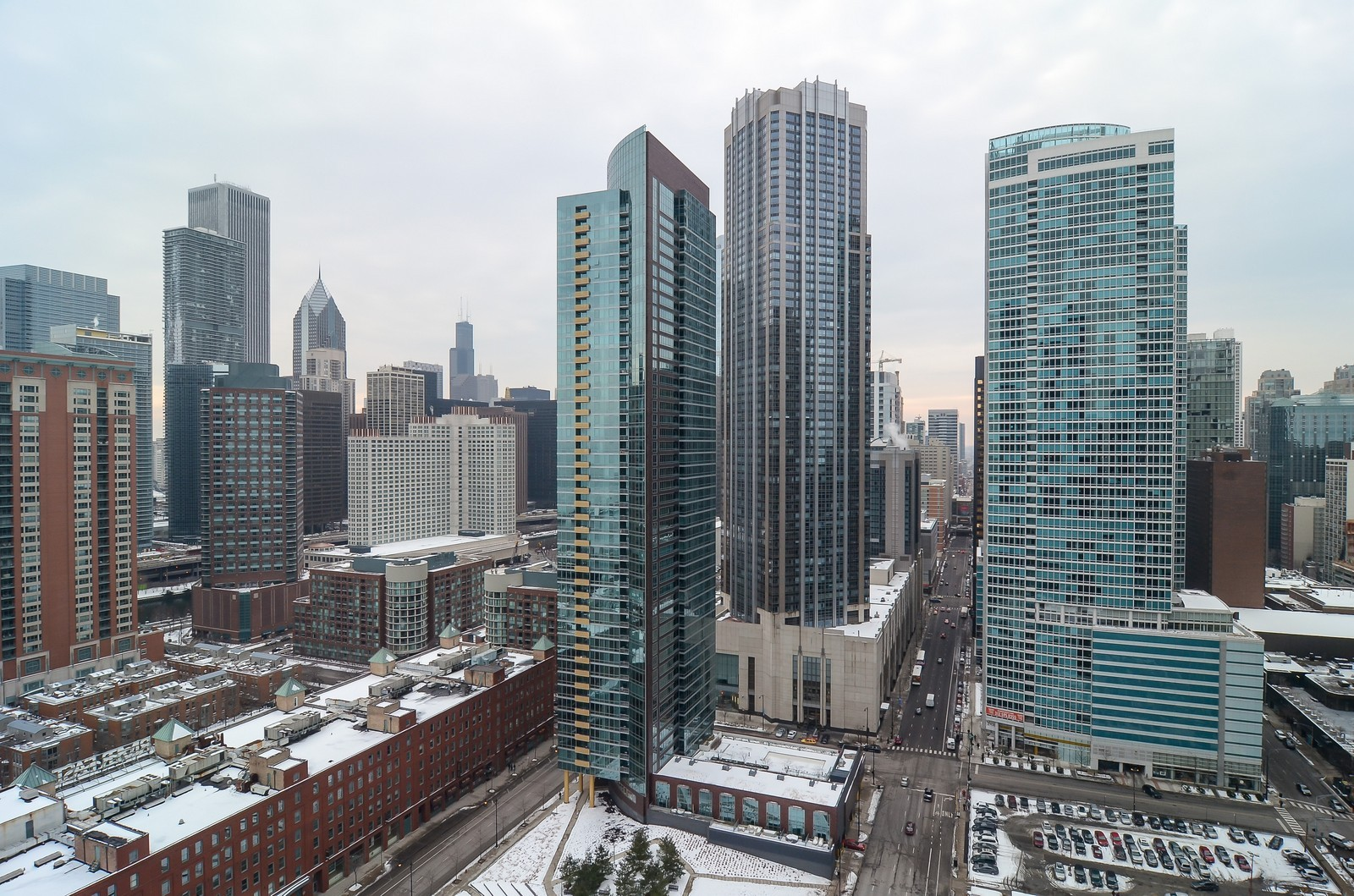 Real Estate Photography - 530 N Lake Shore Drive, Unit 2800, Chicago, IL, 60611 - City View