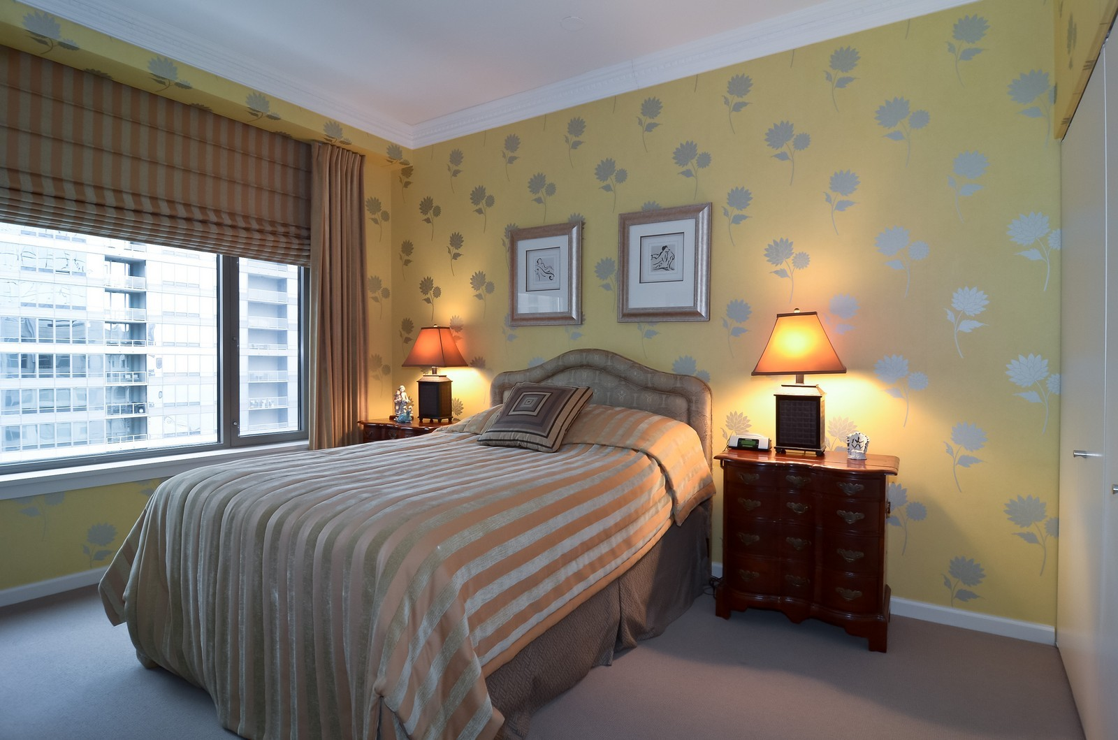 Real Estate Photography - 530 N Lake Shore Drive, Unit 2800, Chicago, IL, 60611 - 2nd Bedroom