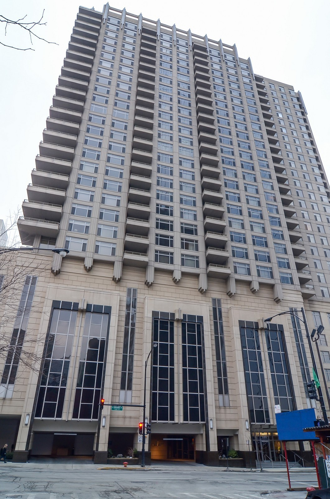 Real Estate Photography - 530 N Lake Shore Drive, Unit 2800, Chicago, IL, 60611 - Front View