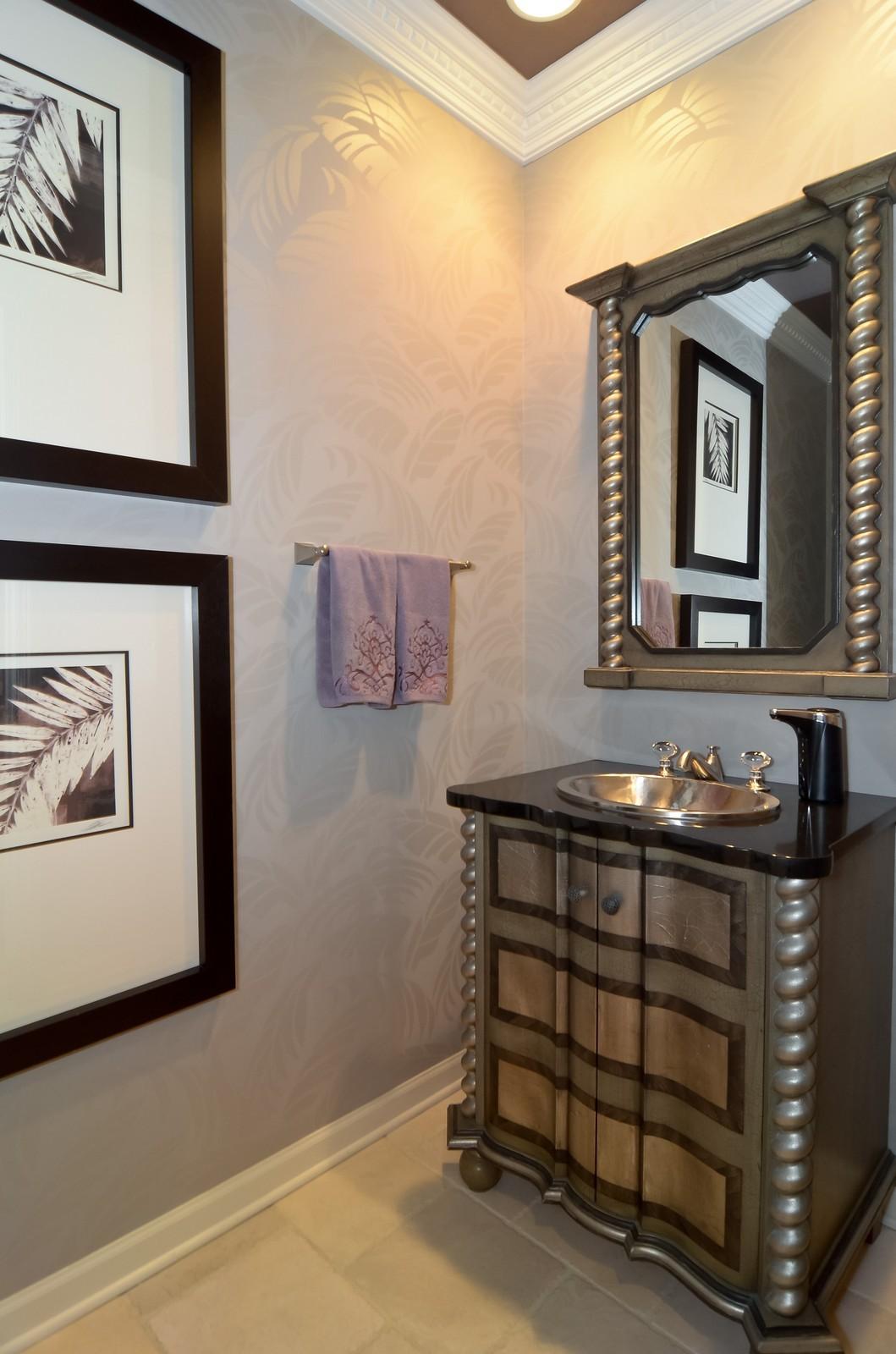 Real Estate Photography - 530 N Lake Shore Drive, Unit 2800, Chicago, IL, 60611 - Half Bath