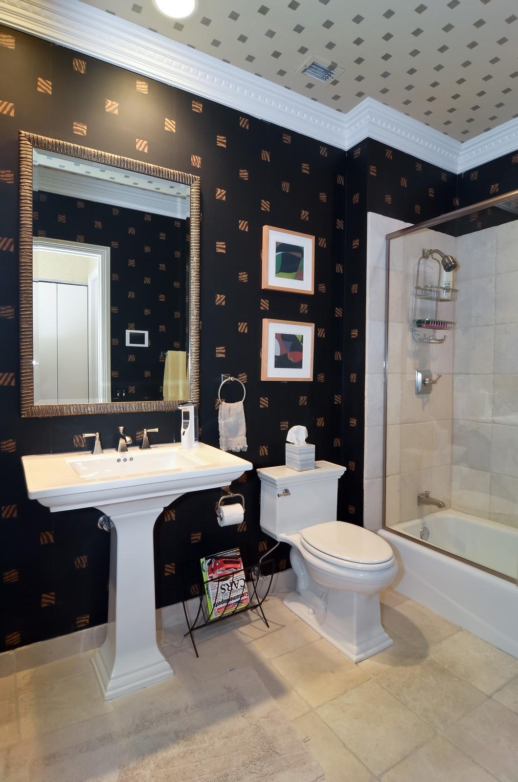 Real Estate Photography - 530 N Lake Shore Drive, Unit 2800, Chicago, IL, 60611 - Bathroom