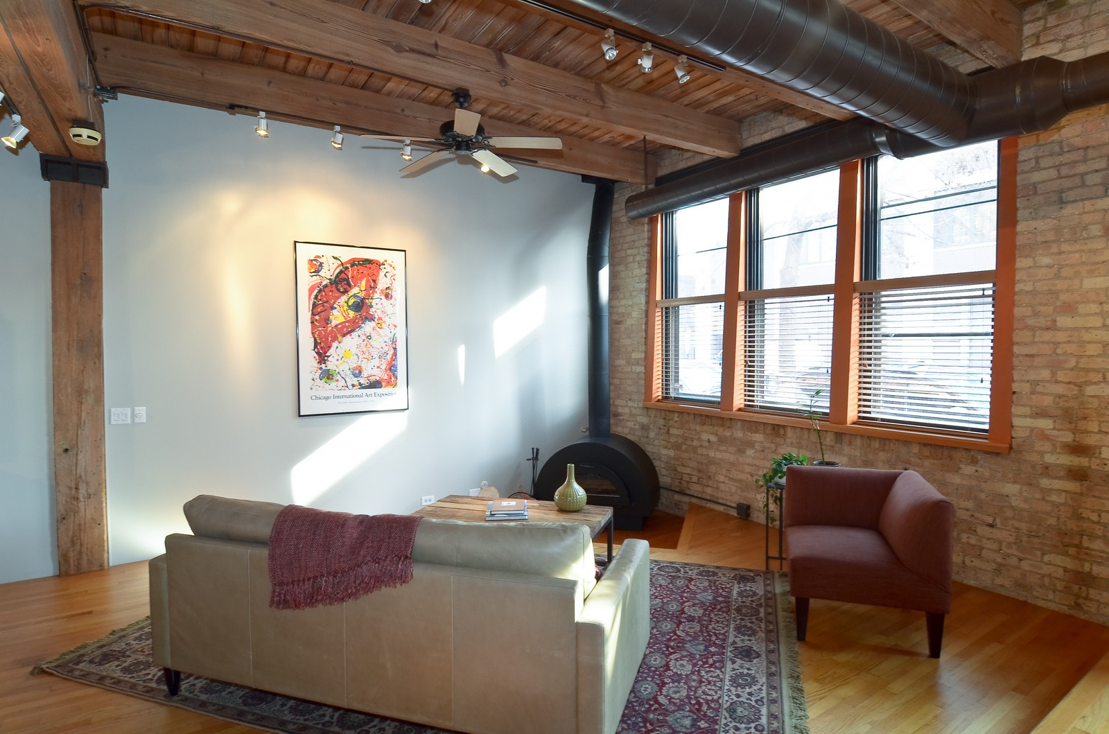 Real Estate Photography - 2435 N. Sheffield, 9, Chicago, IL, 60614 - Living Room