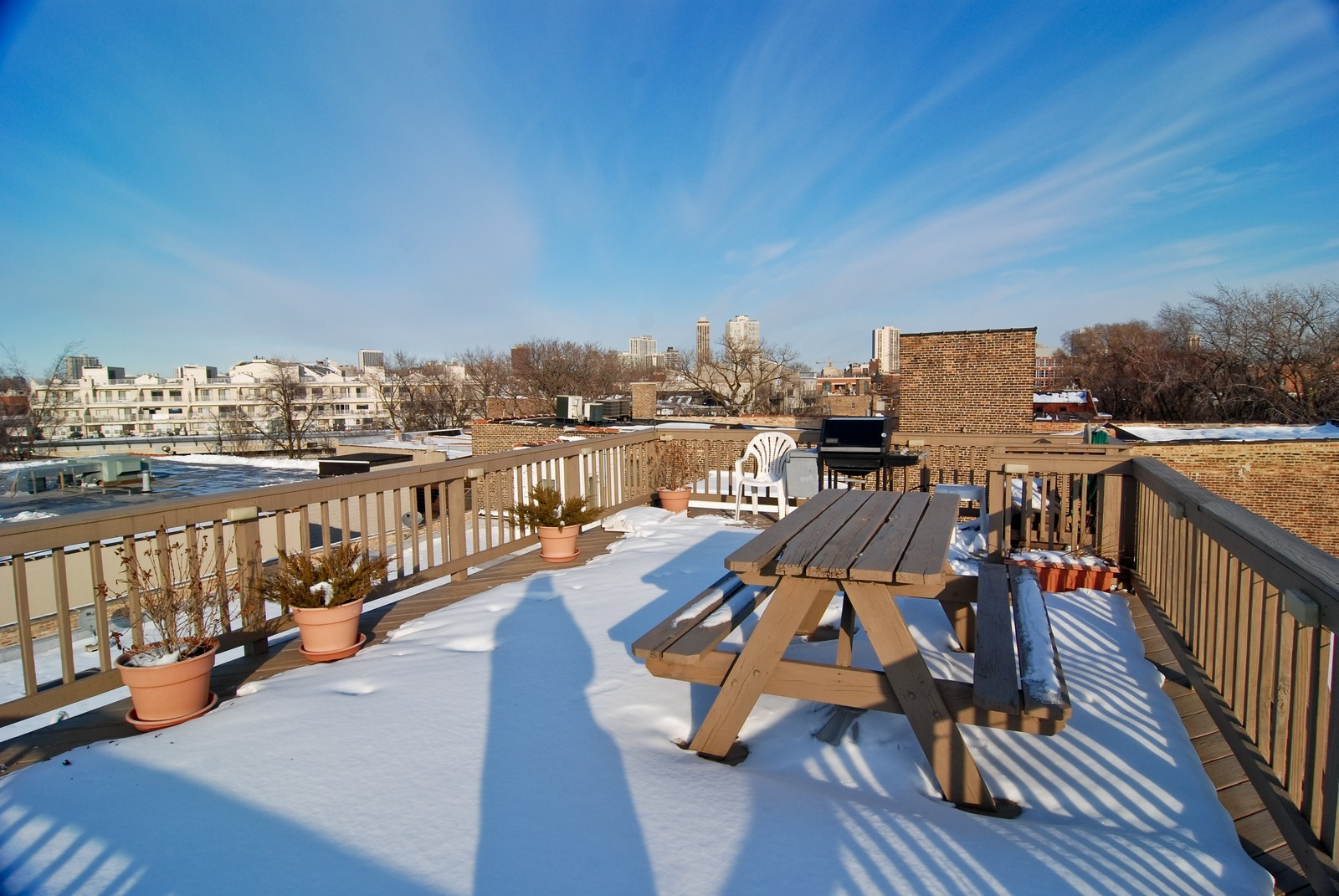 Real Estate Photography - 2435 N. Sheffield, 9, Chicago, IL, 60614 - Roof Deck